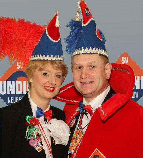 Prinz Stefan I. (Reismann) und seine Frau Sarah