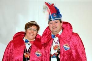 Jo II. und Rebecca I: sind das Prinzenpaar 2014