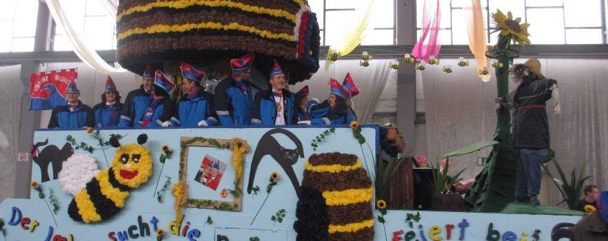 Karnevalswagen Biene